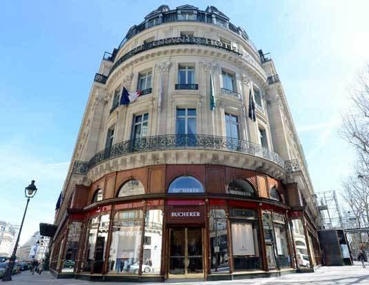 Boutique Bucherer montres à Paris