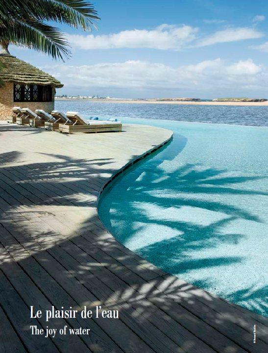 Hotel La Sultana Oualidia piscine