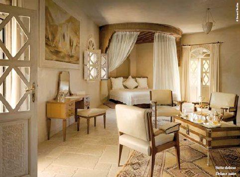 Hotel La Sultana Oualidia suite Deluxe