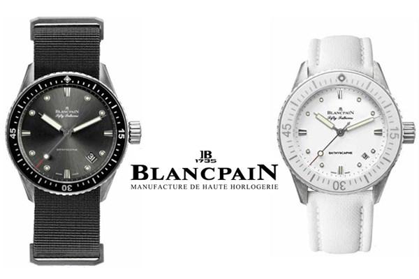 Blancpain montre de plongée