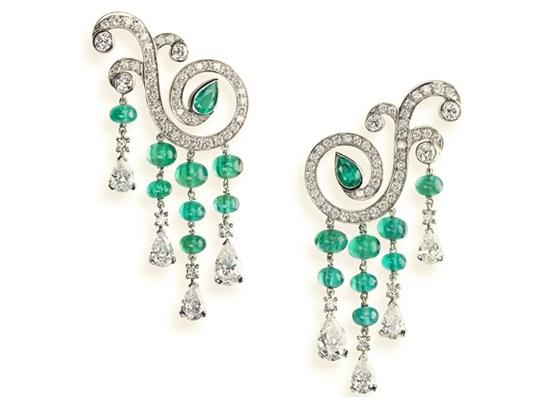 Boucles d'oreilles Fabergé