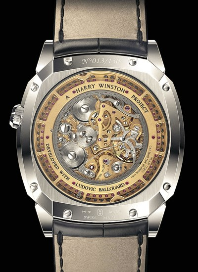 Fond de la montre Opus XIII