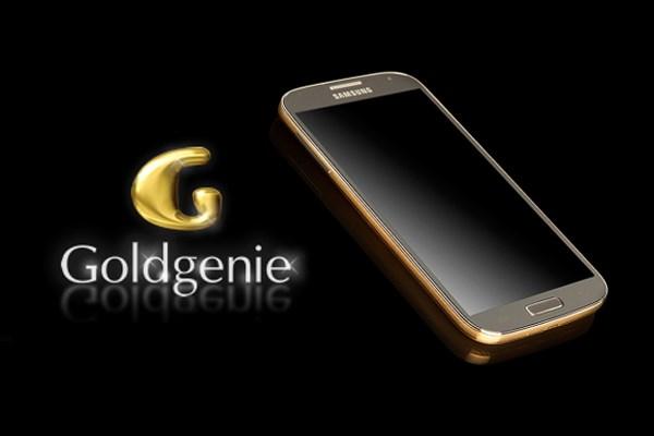 Goldgenie et Samsung Galaxy S4