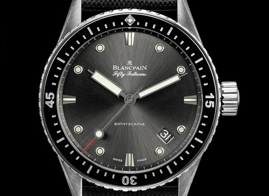 Montre de plongée Blancpain Fifty Fathoms Bathyscaphe