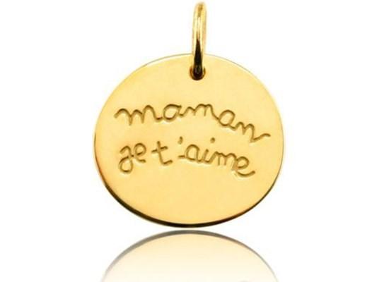 Pendentif Maman je t'aime