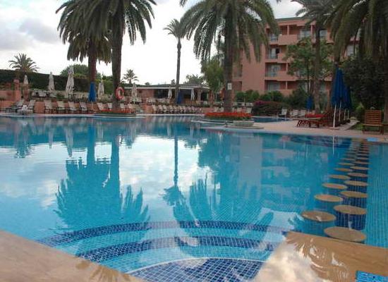 Piscine hôtel Sofitel de Marrakech