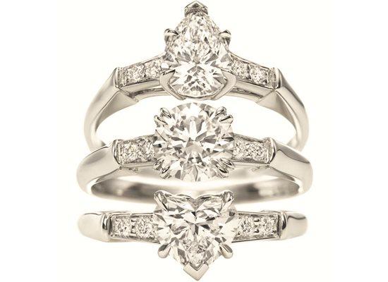Bagues en diamants par Harry Winston
