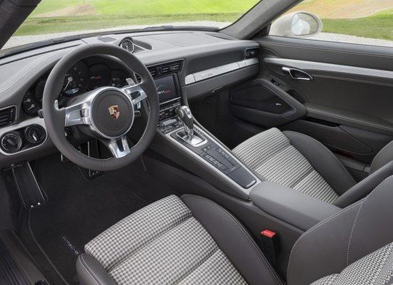 Intérieur Porsche 911 50 ans