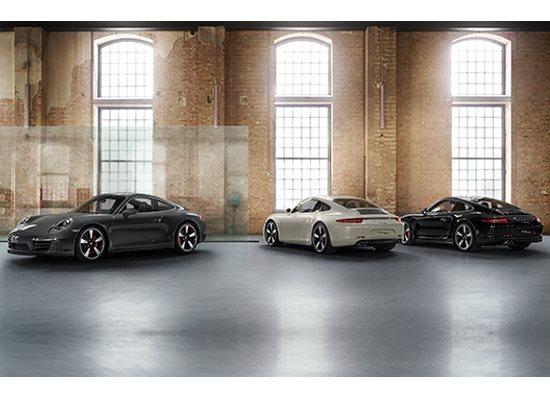 Porsche 911 50 ans coloris