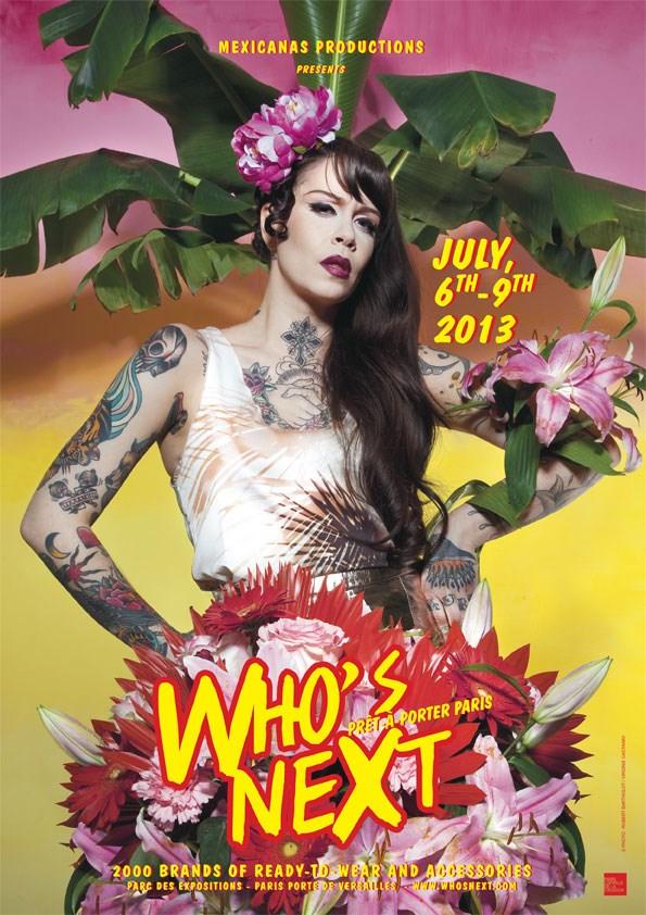 Affiche salon Who's Next été 2013