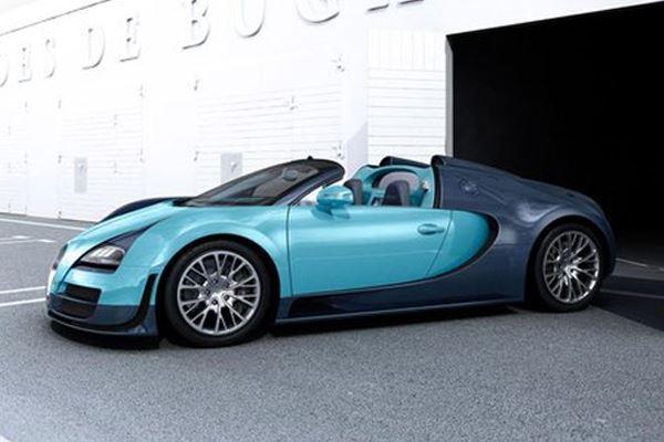 La Bugatti Veyron Grand Sport Vitesse en édition limitée