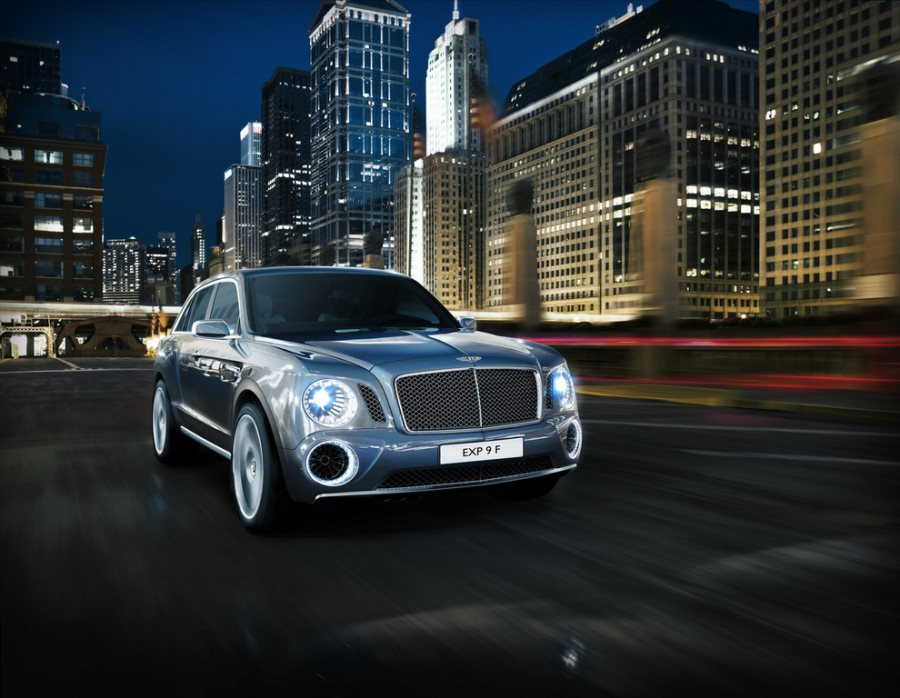Concept SUV Bentley EXP 9 F