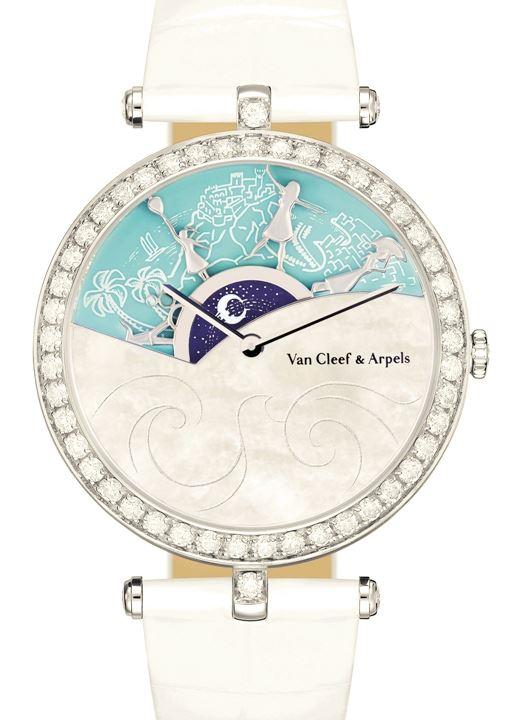 Montre Lady Arpels Une Journée à Monaco par Van Cleef & Arpels