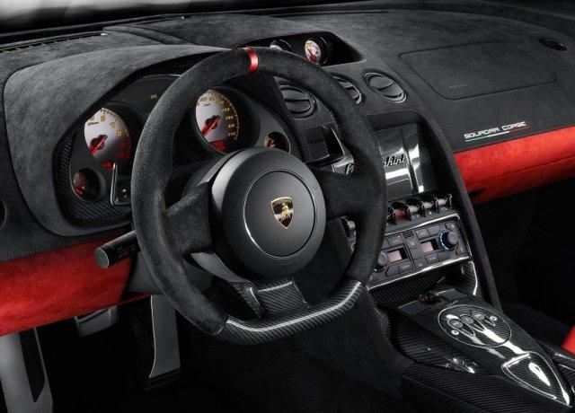 Intérieur Lamborghini Gallardo LP 570-4 Squadra Corse