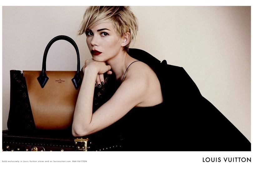 Michelle Williams, nouvelle égérie de Louis Vuitton