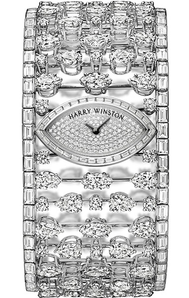 Mrs. Winston High Jewelry Timepiece