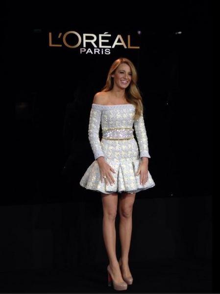 Blake Lively et L'Oréal