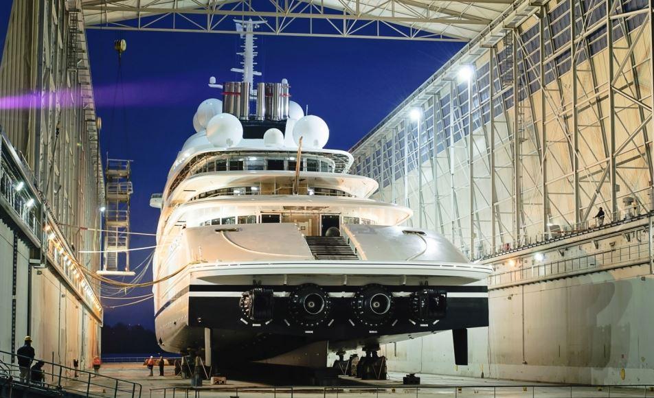 Les plus beaux yachts du monde for Yacht de luxe interieur