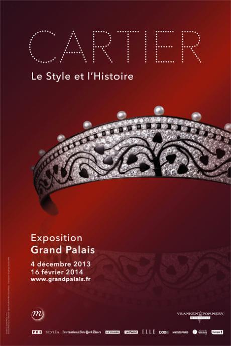 Affiche Cartier le Style et l'Histoire