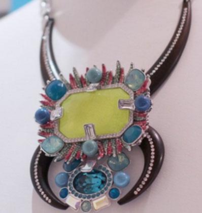Collier Swarovski Glam Tribal