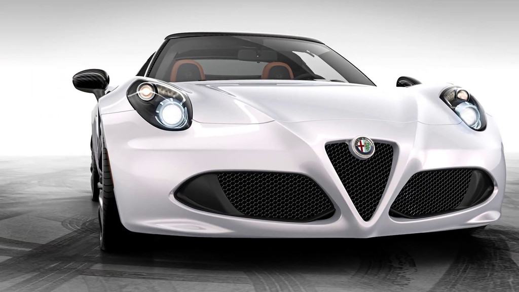 alfa romeo 4c spider concept. Black Bedroom Furniture Sets. Home Design Ideas