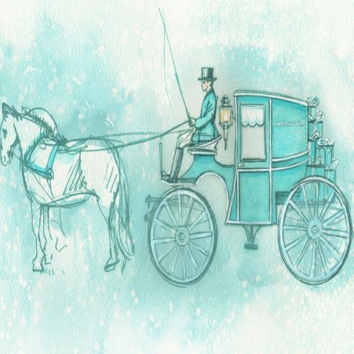 La célèbre calèche Tiffany & Co