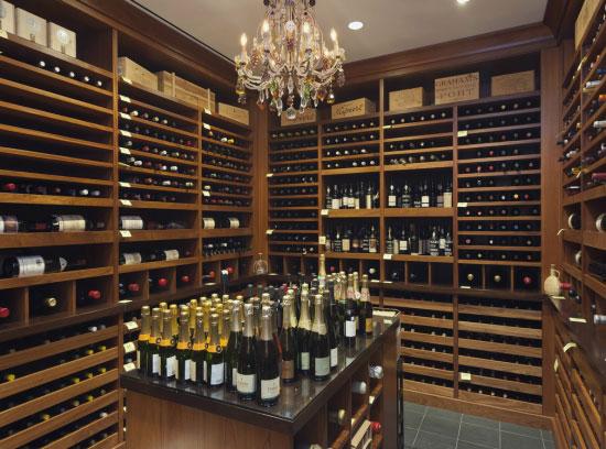 Cave à vin de prestige