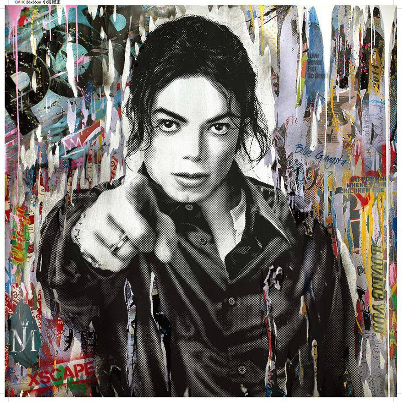 Mr Brainwash - Pochette d'album Michael Jackson