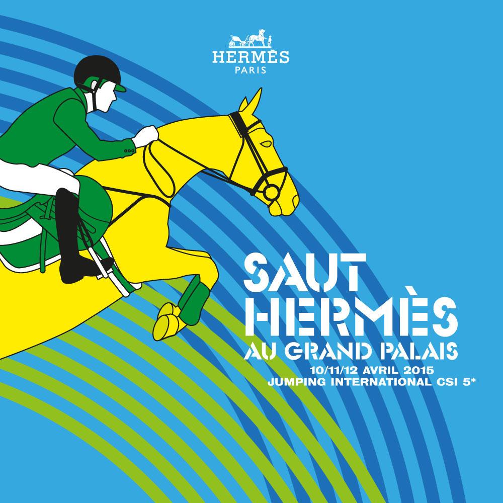 Saut Hermes 2015 au Grand Palais