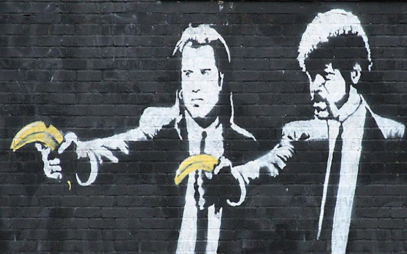 Banksy BANANE