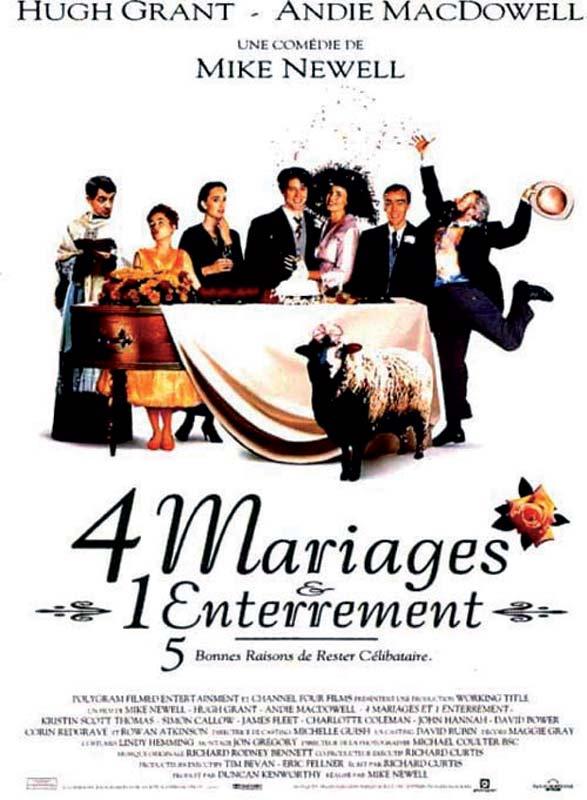 4 mariage et 1 enterrement