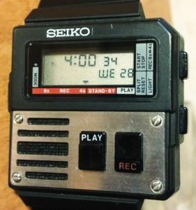 Montre Seiko audio