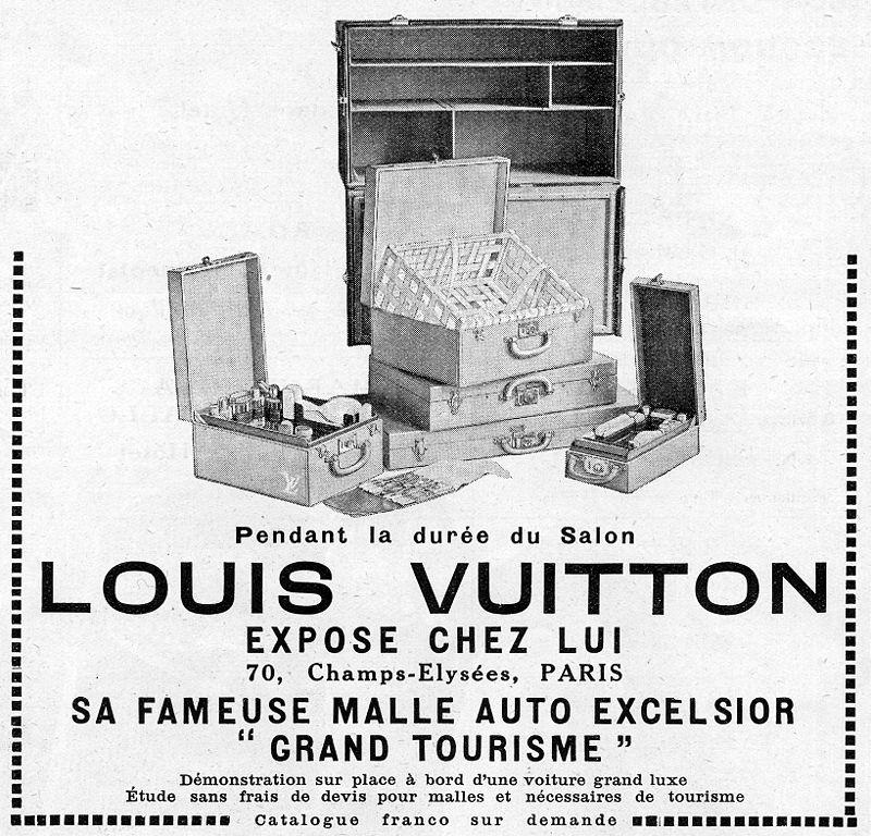 Publicité Louis Vuitton