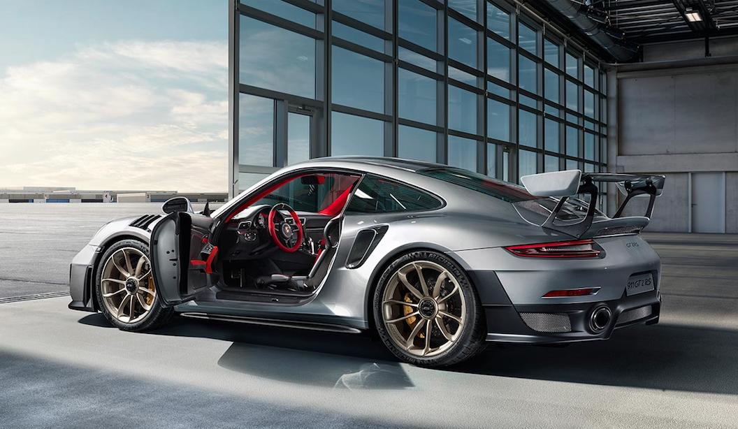 La nouvelle 911 GT2 RS, la plus puissante des Porsche
