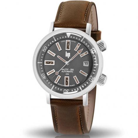 ar-montre-lip-nautic-ski-671503-homme-cadran-gris-38-mm-acier-inoxydable-31455
