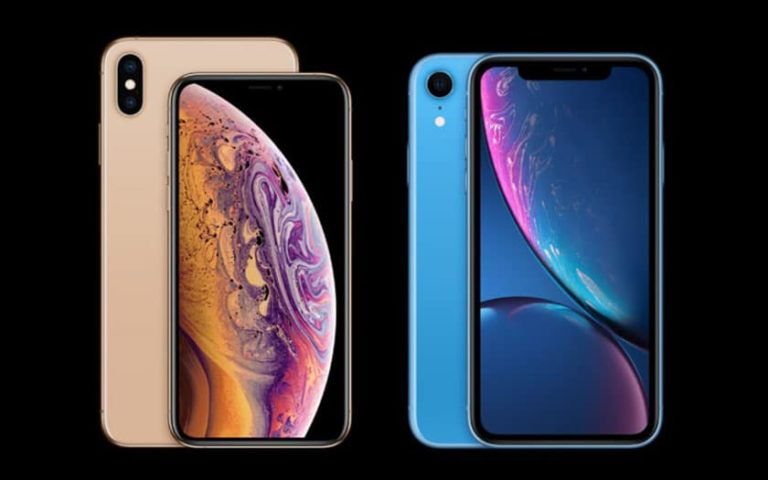 Apple : Iphone XS, XS Max et XR