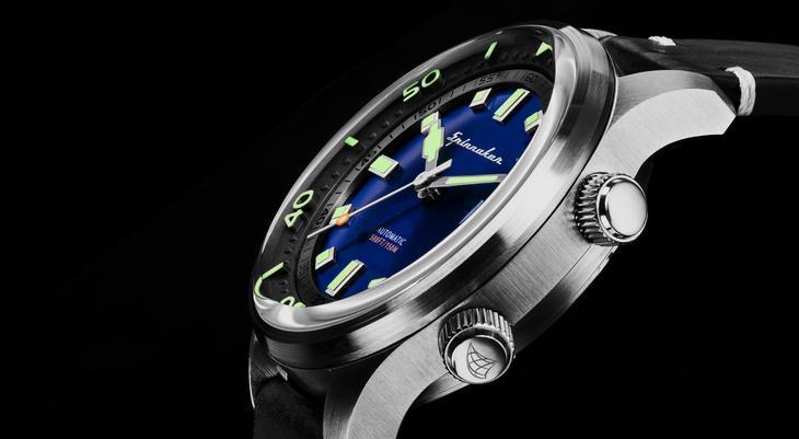 Zoom sur la marque de montre Spinnaker
