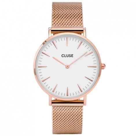 montre-cluse-la-boheme-mesh-rose-gold-white-38-mm