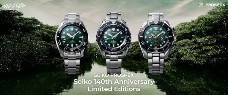 La marque Seiko Prospex fête son 140e anniversaire !